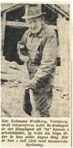 Nittioåring från Stenåsen 1965