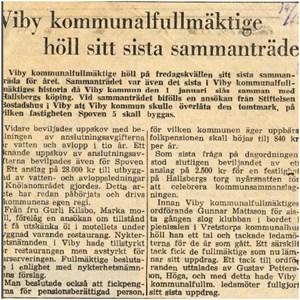 Sista mötet 1964