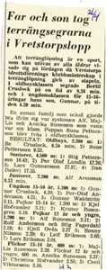 VIF KM Teränglöpning 1965