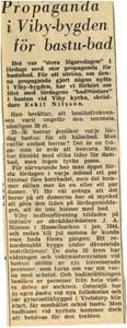Viby bastun 1963