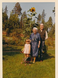 Bohult Selma Gustav barnbarnet Kristina