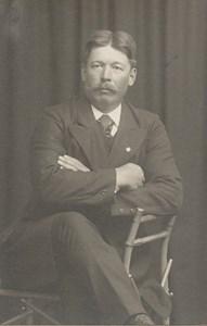 Skogsarbetare Karl Eliasson Lidtorp