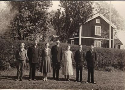 RagnarÖstlund, Sven,Eva,David,Berta,Thure,Bertil Nilsson