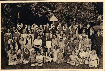 Söndags  skolavslutning1950.jpg
