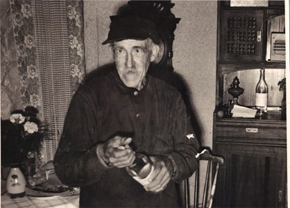 Skogshuggare Karl Johan Sundström