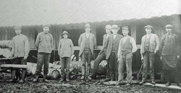 Sågen Körtingsberg 1900-10 talet