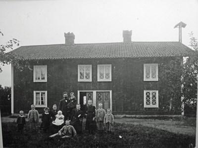 Körtinge  1898 Fam.Sätterqvist