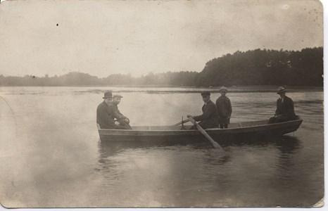 Vibysjön en Valborgsmässoafton