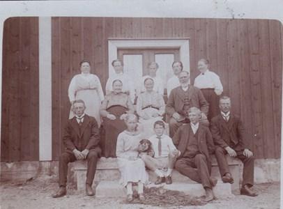 S.Öna Familjen Eriksson 1915