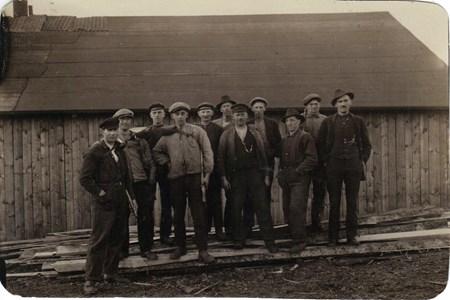 Östansjö Såg 1920.jpg