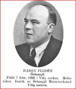 Harry Floden Gatugårda Östansjö