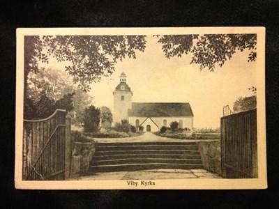 Viby kyrka 1916