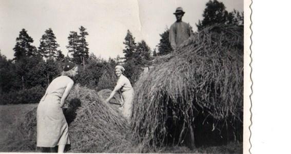 Enekorset Maria,Karin och Adolf Körberg