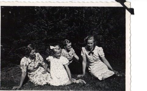 Enekorset Märta,Kerstin.Signe och Ingrid Körberg