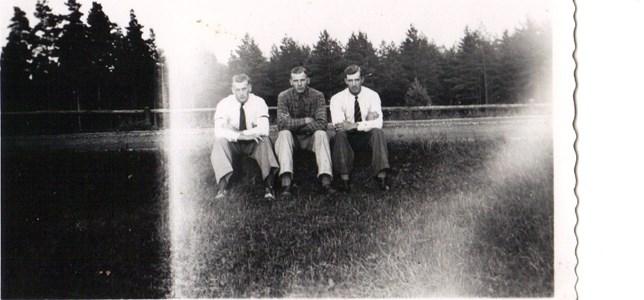 Enekorset Helmer,Ivar och Gunnar Körberg