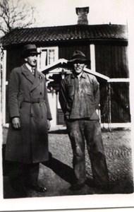 Grannarna Martin och Bertil Nilsson