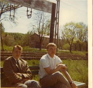 Harry Strömberg och Jerry Håkansson