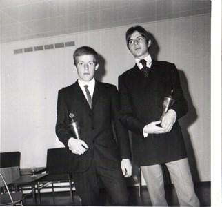 Bo Persson(Persa) och Tage Liljesson