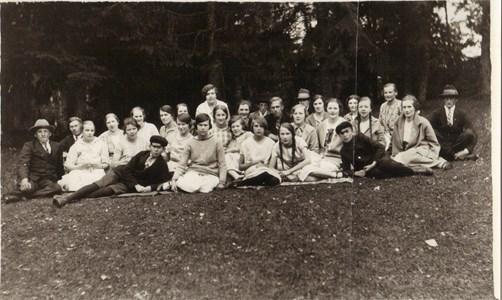 Hästhagsudden 1928