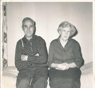 Körtingsberg Elis och Mina Larsson Statare