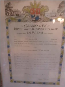 Diplom Släktgård