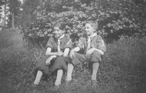 Stig och Kurt Johansson 1940-talet