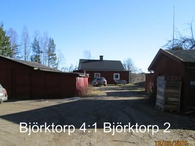 Björktorp 2, Skogshall