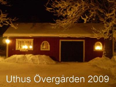 Övergårdens garage/verkstad 2009