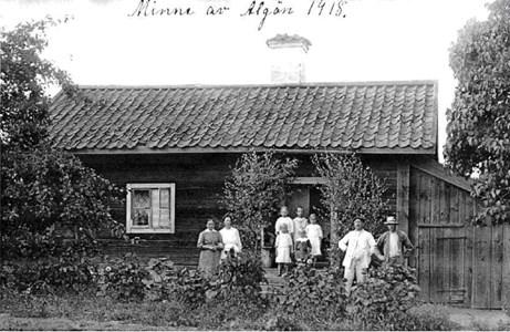Älgö 1918 fotografokänd