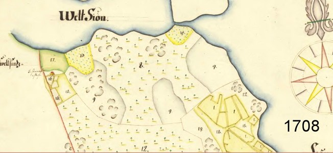 Farneby soldattorp karta 1708