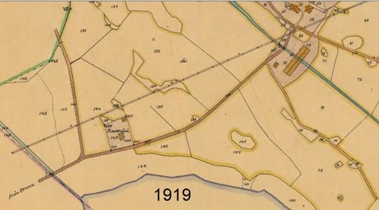 Rosendal, karta 1919