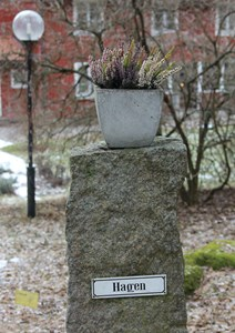 Hagen grindstolpe
