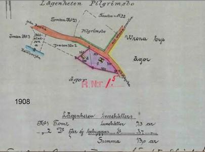 Lindesberg tomtkarta
