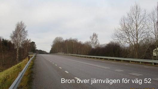 Bron för väg 52 över järnvägen