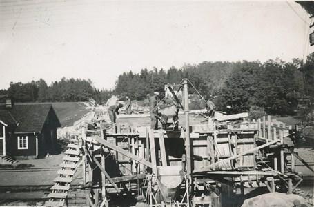 Bron över jvg i Vrena