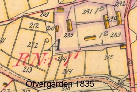Öfvergården 1835