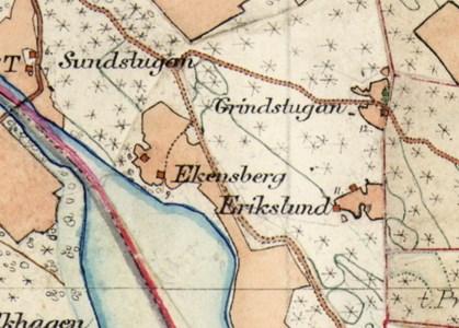 Erikslund karta 1901