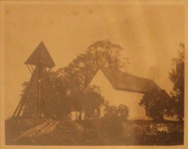 Halla kyrka 1911