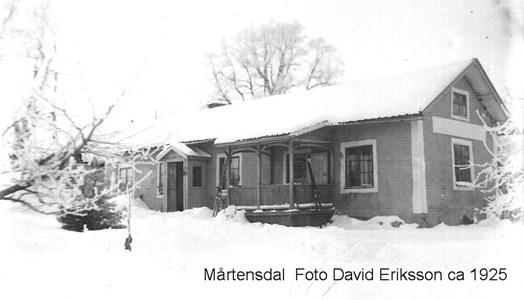 Mårtensdal 1925